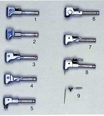 CS series Contra handpieces