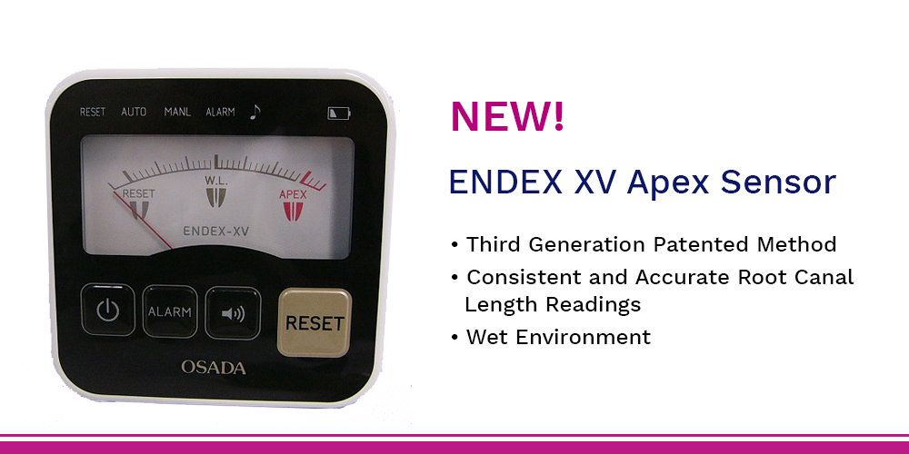 ENDEX XV electronic apex locator